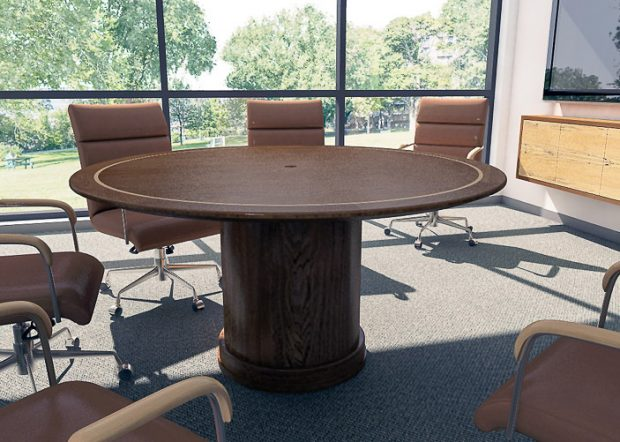 Essent Custom Round Office Conference Table