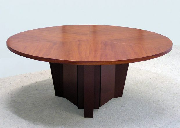 Fort Sumter Round 6 Foot Conference Table