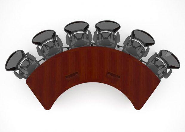 Fresco Custom U Shape Meeting Table
