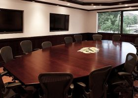 Gallaudet University Large Conference Room Table