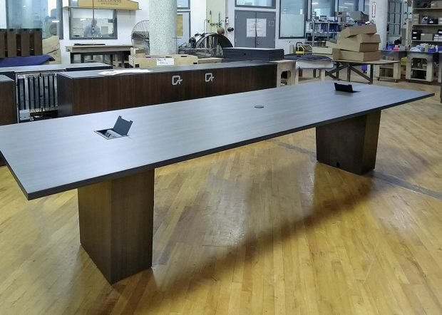 Geico Custom Conference Table with Power