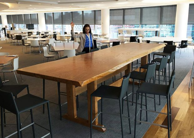 Goodwin Procter Communal Solid Wood Meeting Table