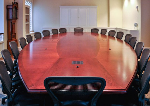 Harvard Cabot Room 20 Person Conference Table