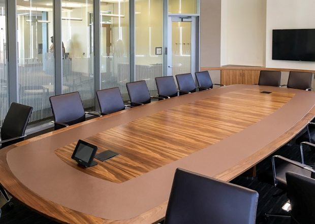 Harvard Chao Center Custom 18 Foot Conference Table
