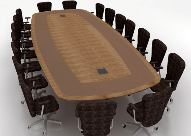 Harvard Chao Center Student Meeting Room Table