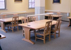 Harvard Radcliffe Custom Conference Tables for Library