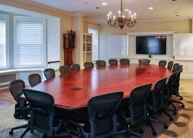 Harvard University Large Conference Room Table