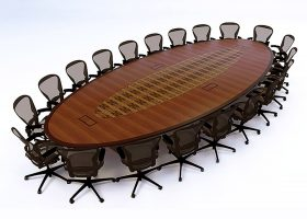 Healthquest Large Conference Room Table