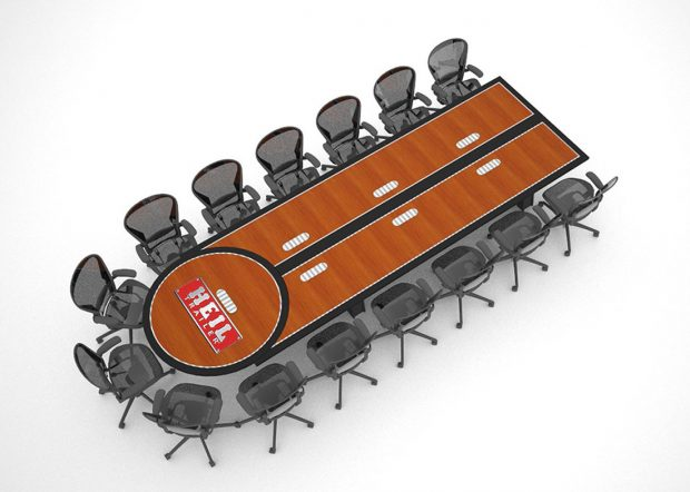 Heil Trailer Reconfigurable Conference Room Tables