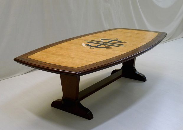 HH Custom Detailed 8 Foot Conference Table