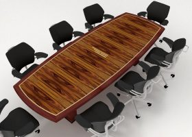 Hinkson Financial Custom Executive Conference Table