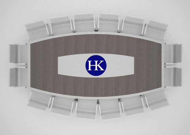 Holmes Kurnik 14 Foot Conference Table