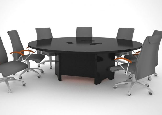 Hopkins Custom Round Conference Table
