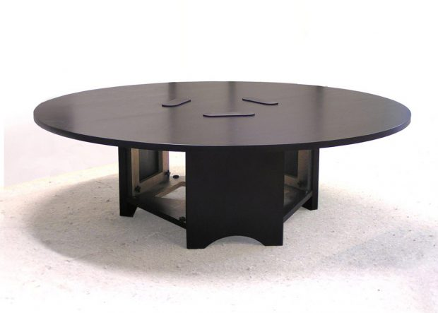 Hopkins Custom Round Meeting Table