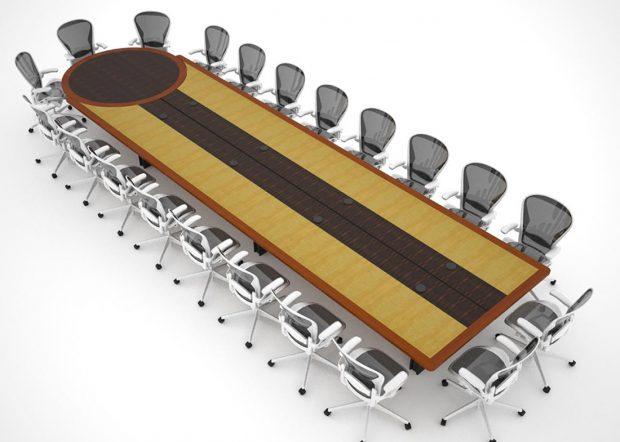 HUD Adjustable Conference Room Tables