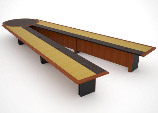 HUD Custom Conference Room Table