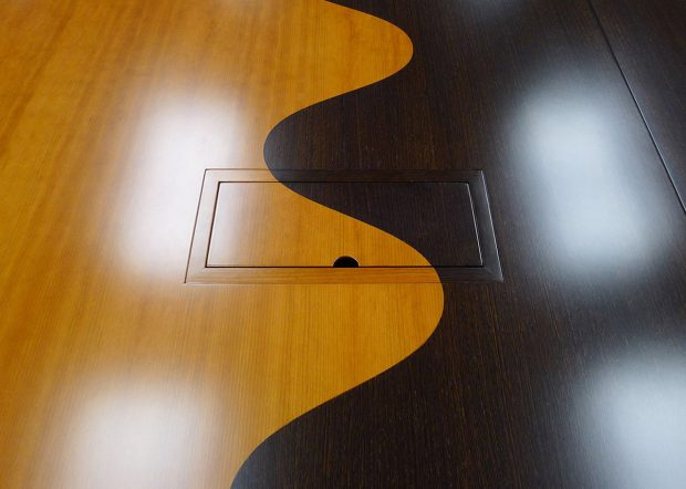 Hudson Custom Modern Conference Table