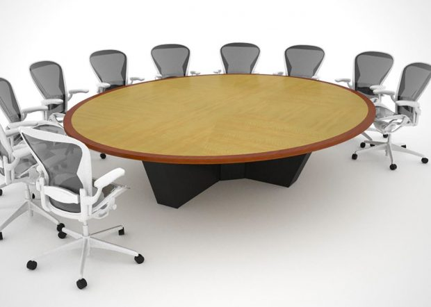 Human Capital 14 Person Conference Table