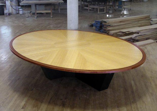 Human Capital Custom Oval Conference Room Table