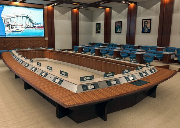IADB Reconfigurable Conference Room Tables