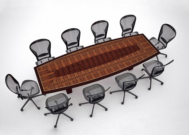 Incredible Tech Premium Board Meeting Table