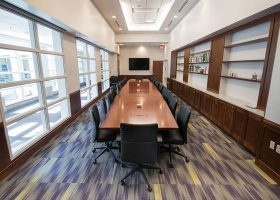 James Madison University Boardroom Meeting Table