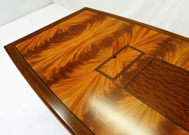 Keplar Custom Mahogany Conference Table