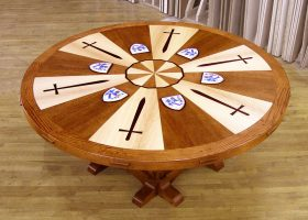 King Arthur Custom Round Conference Table