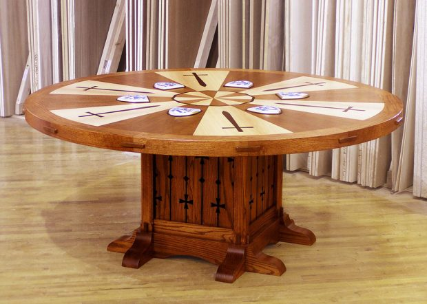 King Arthur Custom Round Meeting Table
