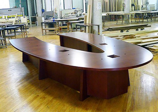 Lackland AFB U-Shaped 12 Person Conference Table