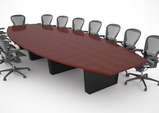 Lenahan Law 16 Foot Conference Table