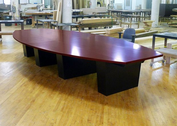 Lenahan Law Custom Curved Conference Table
