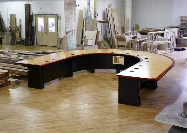 Lockheed Martin Video Conference Room Table