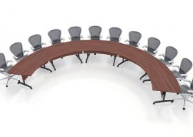 Lodge Grass Custom Modular Conference Room Tables