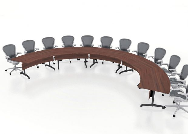 Lodge Grass U Shaped Conference Table