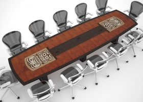 Potlatch Custom Conference Table