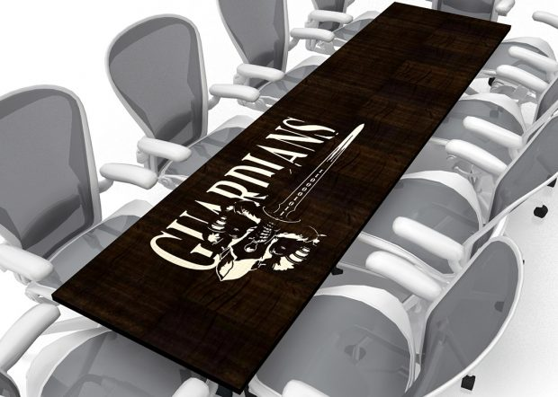 835th Cyber Ops Modern Office Conference Table