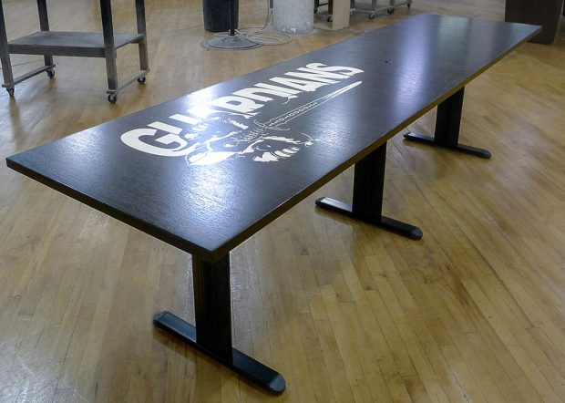 835th Cyber Ops Premium Oak Conference Table