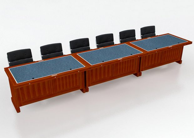 Architect of the Capitol Modular Conference Room Table