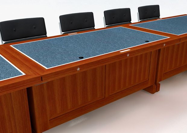 Architect of the Capitol Modular Conference Table