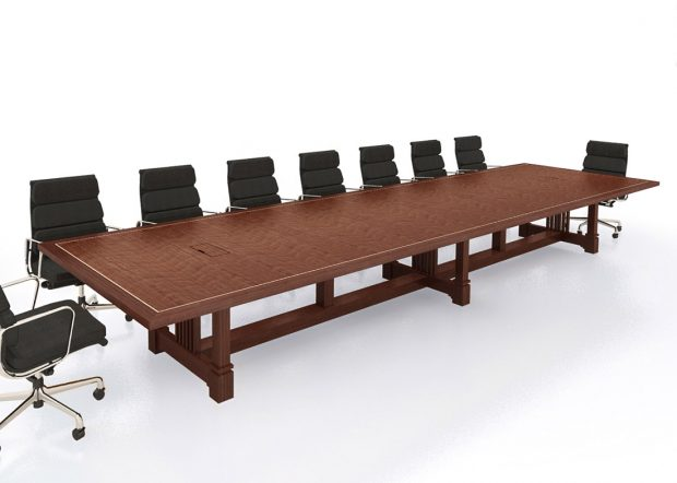 Chemical Company Custom 16 Person Conference Table