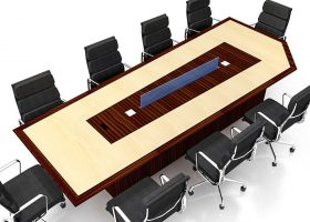 CISCO Unique Conference Room Table with Power