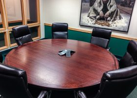 Hoey and Farina Round Conference Room Table