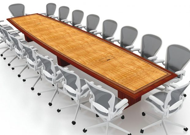 MacDonald Hoague Bayless 20 Foot Conference Table