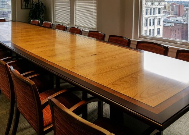 MacDonald Hoague Bayless Cherry Conference Table