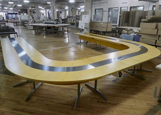 Magma Modular U Shaped Conference Table
