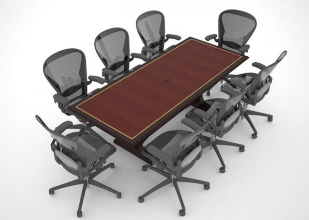 Manchester Capital 8 Person Conference Table