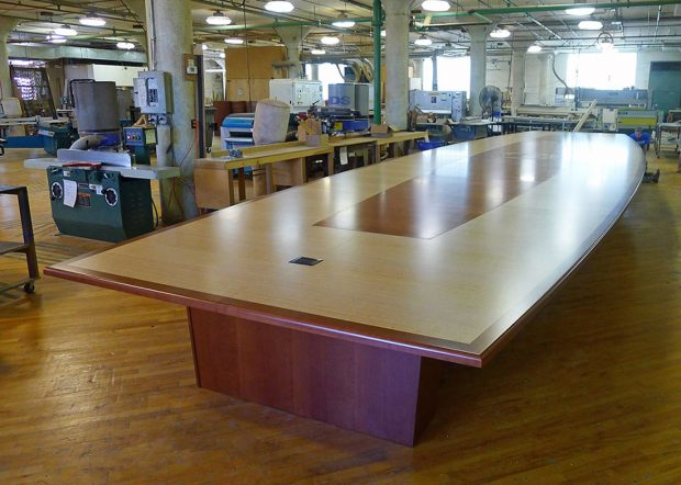 Marywood University Large Conference Room Table