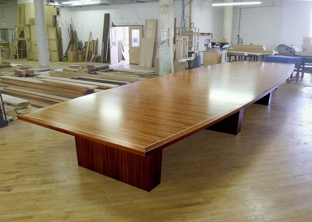 Mcintosh LL Bean Large Conference Table with Power