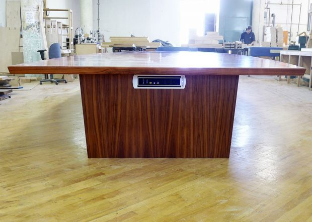 Mcintosh LL Bean Modern Conference Table with Power